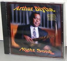 CLARITY CCD 1016 CD: Arthur Blythe - NIGHT SONG - OOP 1997 USA Factory SEALED