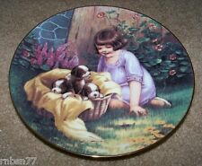A Basket Full Collector Plate from Fond Memories - Grimball 1988