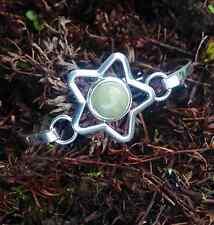 Connemara marble star bracelet bangle. Irish jewelry. Cabochon