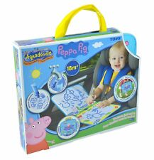 AquaDoodle Peppa Pig Doodle Travel Bag Mess Free Drawing Fun For Children