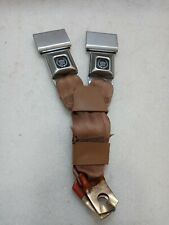 Cadillac Logo Seat Belt Buckle Push Button With Fixed Latch, Seatbelt Buckle