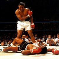 "Muhammad Ali Knock Out poster wall art home decor photo print 16"", 20"", 24"" sz"