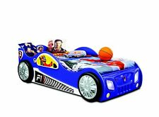 Race Car Car Bed Children Furniture Bedroom Child Beds Wood + Mattress New
