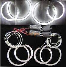 Bright CCFL ANGEL EYES HALO RINGS bulbs lamps BMW E46ti E83 X3 kit - 7000K white
