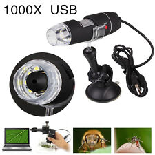 USB 1000X Magnifier Digital Microscope Endoscope per Microscope Rack SuctionTool