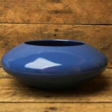 Floral Arrangements Low Design Bowl - Blue