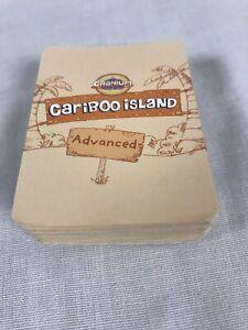 2008 Cranium Cariboo Island Treasure Game Replacement Set of 41 Advanced Cards