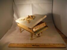 Vintage Disney Snow White 2 Tune Marble & Iron Trinket Piano 1940's Music Box