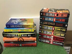 Lot of 11 LEE CHILD Books~Jack Reacher Novels~HB/PB Mixed Lot