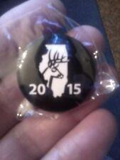 2015 Illinois CWD Shotgun Deer Pin