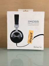 Koss Pro DJ200 Full Size Over-Ear DJ Headphones with Mic - Black (A)