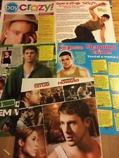 Channing Tatum, Lot of FIVE Full Page Clippings, Some Foreign