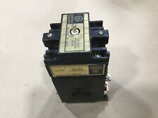 GENERAL ELECTRIC CONTACTOR CR7CA W// CR7G1WH OVERLOAD REALY 25 AMPS 600VAC MAX