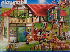 Playmobil 6120 Bauernhof Country 257 -teilig Neu/Ovp
