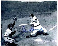 Autographed 8X10 John Kennedy Boston Red Sox photo - w/Coa