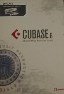 Cubase 6 Upgrade For 4 / 5 Steinburg Advanced Music Production System