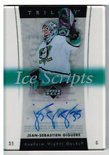 05-06 Trilogy ICE SCRIPTS Jean-Sebastien GIGUERE #IS-JG - Ducks