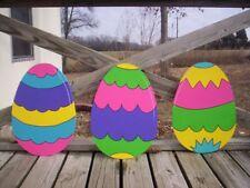 Easter Eggs Yard Art Decoration-3pcs