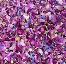50 Guests x Biodegradable Wedding Confetti Pink Lilac Rose Petals Dried Flowers