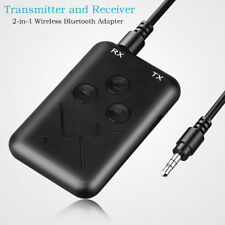 2-IN-1 WIRELESS BLUETOOTH TRANSMITTER RECEIVER STEREO 3.5MM AUDIO ADAPTER _GG