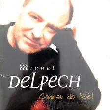 Michel Delpech CD Single Cadeau de Noël - Promo - France (M/M - Scellé)