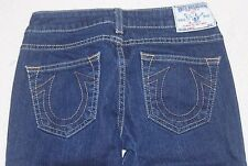 True Religion Johnny Straight Womens Jeans Tag 25 Size 26x29             #135