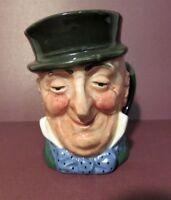 Royal Doulton Mr. Micawber Character Toby Jug. 1948 - 1960 David Copperfield