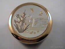 Dynasty Gallery Exclusive Designs Chokin Swans Butterflies Jewelry Trinket Box