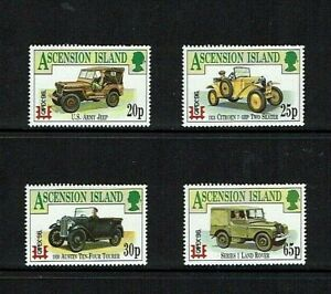 Ascension Is: 1996  Capex Stamp Exhibition,Toronto, Island Transport, MNH set