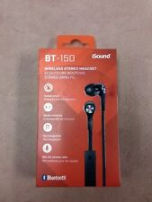 Isound bt-150 Wireless Stereo Headset Brand New Free Ship