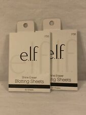 2x e.l.f. Essential Shine Eraser Blotting Sheets 50 Sheets Each