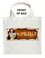 Pocahontas Trick or Treat Bag - Personalized Pocahontas Halloween Bag