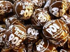Tootsie Pops Chocolate 30 pops Chocolate Tootsie Pop lollipop suckers
