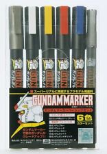 Gunze Sangyo Gundam Markers - Basic 6 Colour Set