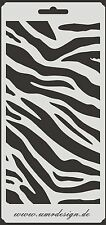 Scrapbook Stencil S-042  Tiger ~ Craft ~ UMR-Design