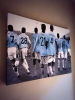 "Manchester City #MCFC Legends Canvas Print (26""x18"") £20"
