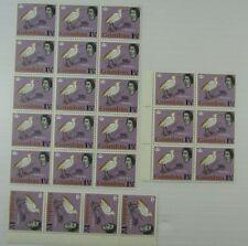 1963 Gambia SC #177 BIRD  QEII  25 MNH stamps