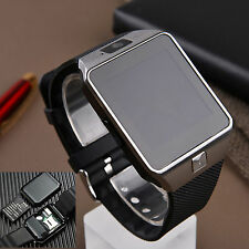 Bluetooth Smart Wirst Watch TF SIM Card For Samsung Galaxy S7 S6 S5 S4 J1 J7 HTC