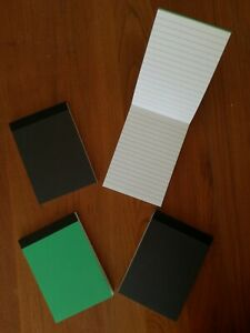 4 PADS A6 80 SHEETS LINED RULED BOTH SIDES PAPER 80 GSM JOTTER NOTEPAD NOTEBOOK