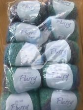 SIRDAR FLURRY CHUNKY 10 X 50 GRMS # FROSTY 0552