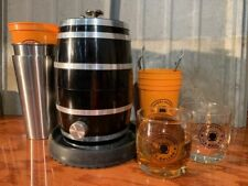 "ICE BALL PRESS - 2.75"", 70mm ice sphere, mold maker whiskey barrel- FULL SIZE!"