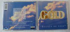 GOLD (CD)  ECLATS DE VOIX