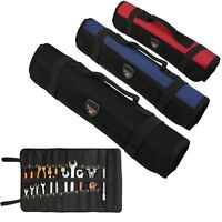 22 POCKET Chef Knife Roll Bag Carry Kitchen Knife Storage Case Portable Pouch