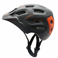New Mens Unisex Adults Cycling Bicycle Bike Helmet PC+EPS With Visor Anti-shock