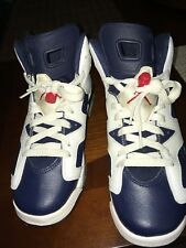 Air Jordan 6 Retro 'Olympic 2012 Release' Kids Sz 5/Wmns Sz 6.5