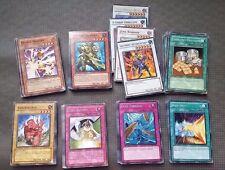 Vintage YuGiOh Folder Collection 83 Cards LOT