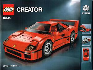 LEGO Expert Instruction Book 10248 NEW for - Ferrari F40 - Car Manual
