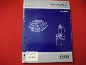 "1997 VOLVO PENTA ""LK"" MODELS WORKSHOP MANUAL FUEL SYSTEM CARBURETED, MFI, TBI"
