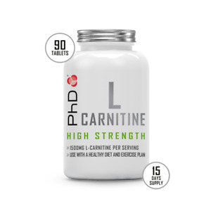 PhD Nutrition L-Carnitine Tablets (90 tablets)