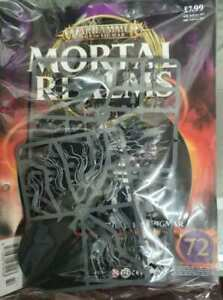 """Warhammer AoS Mortal Realms """"Lady Olynder Mortarch Of Grief"""" Sealed (Issue 72)"""
